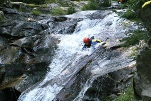 Canyoning Vallorcine Chamonix