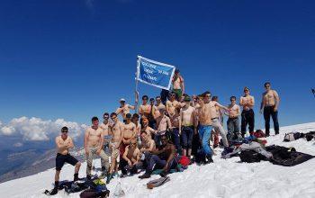 Des hommes sur le Mont Blanc des dames !