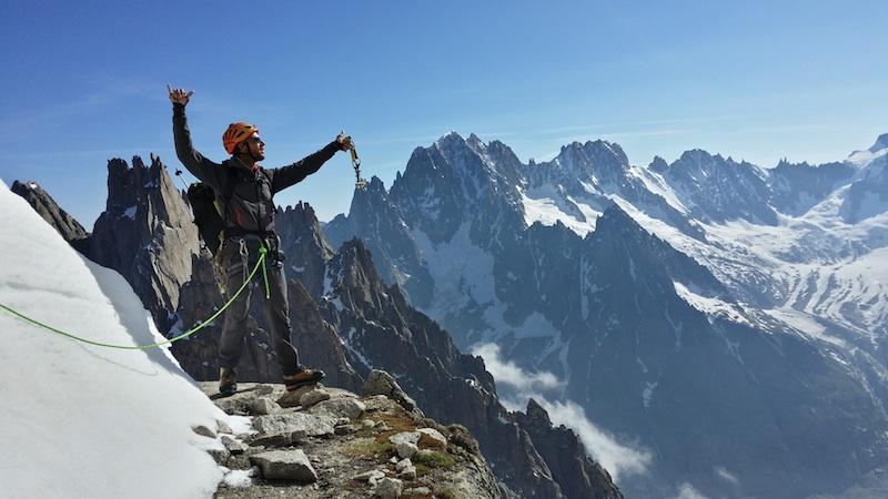 Alpinisme chamonix 1