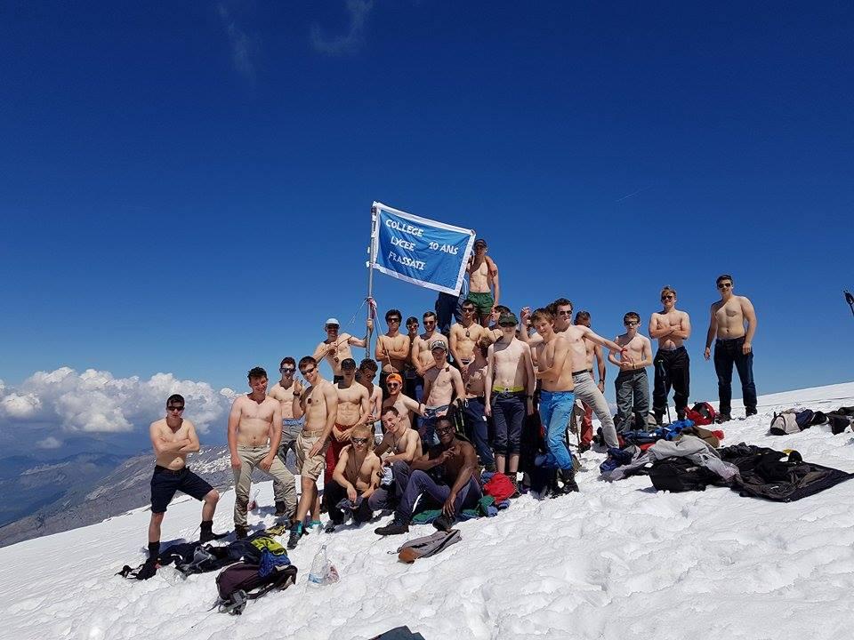 Le sommet du mont buet